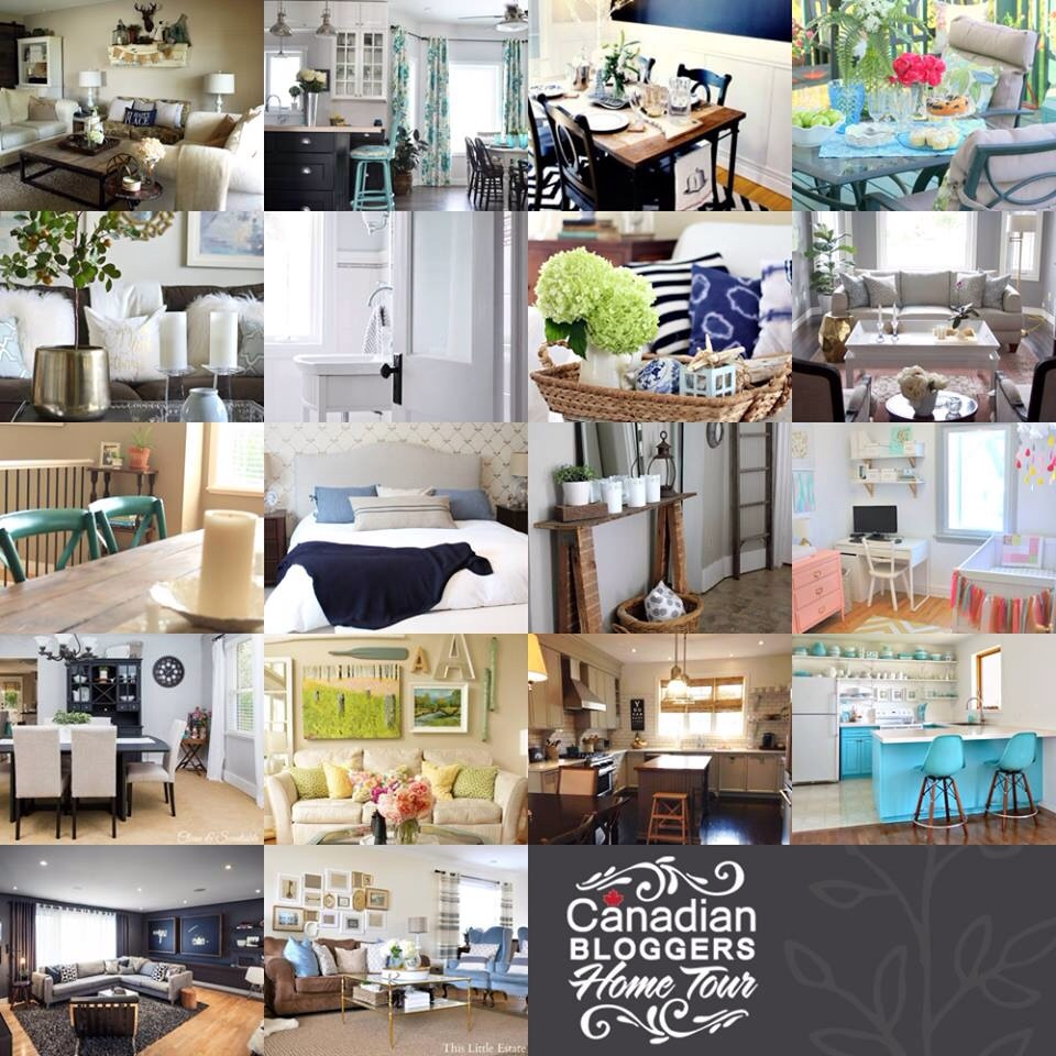 canadian blogger home decor tour