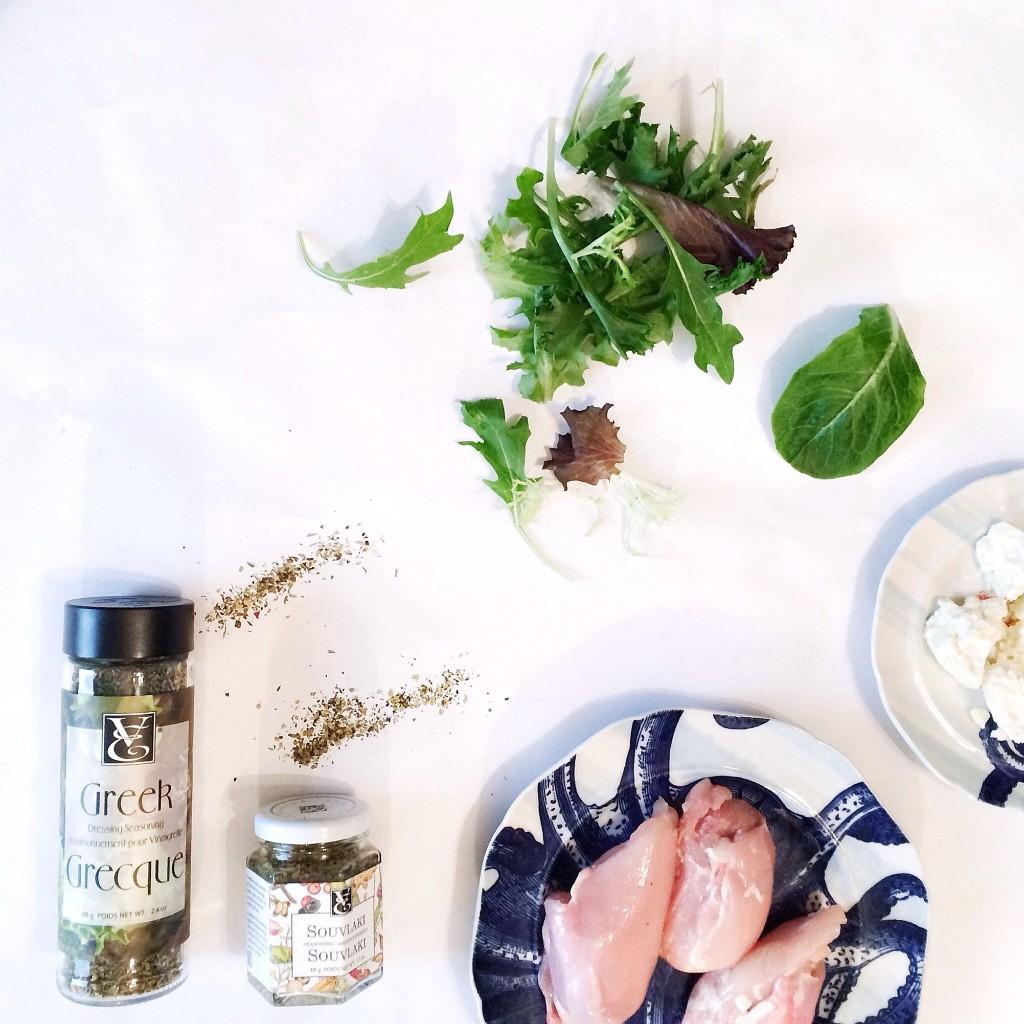 Epicure chicken souvlaki salad recipe