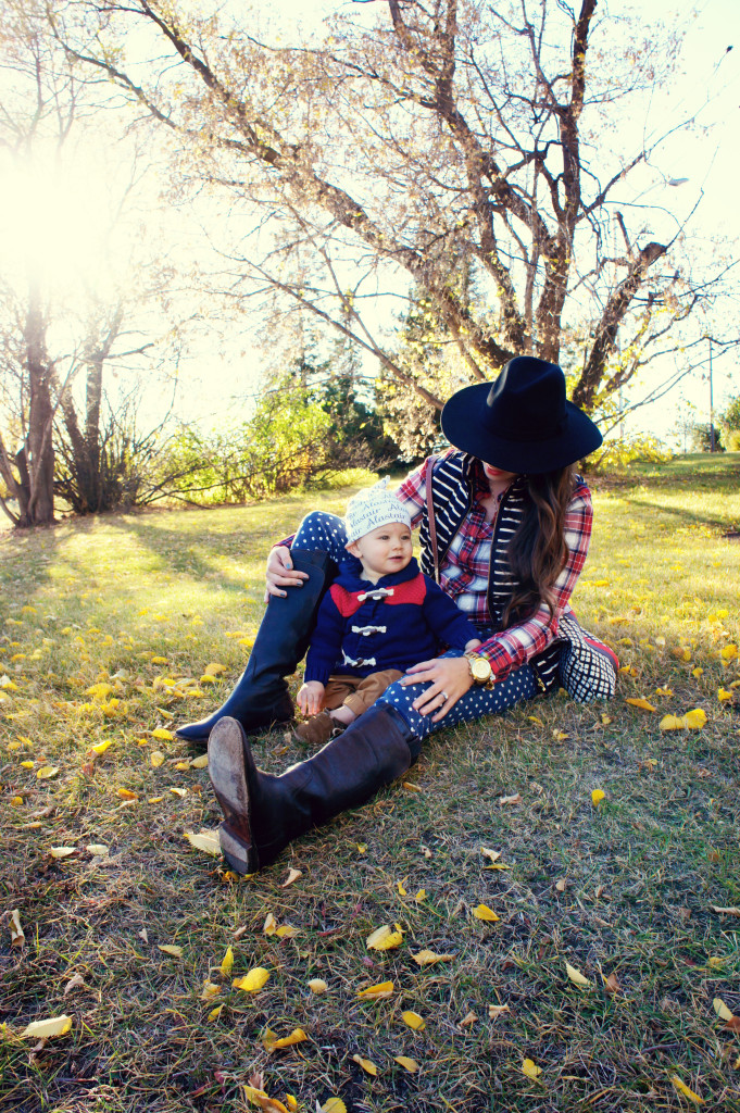 family fall photo idea