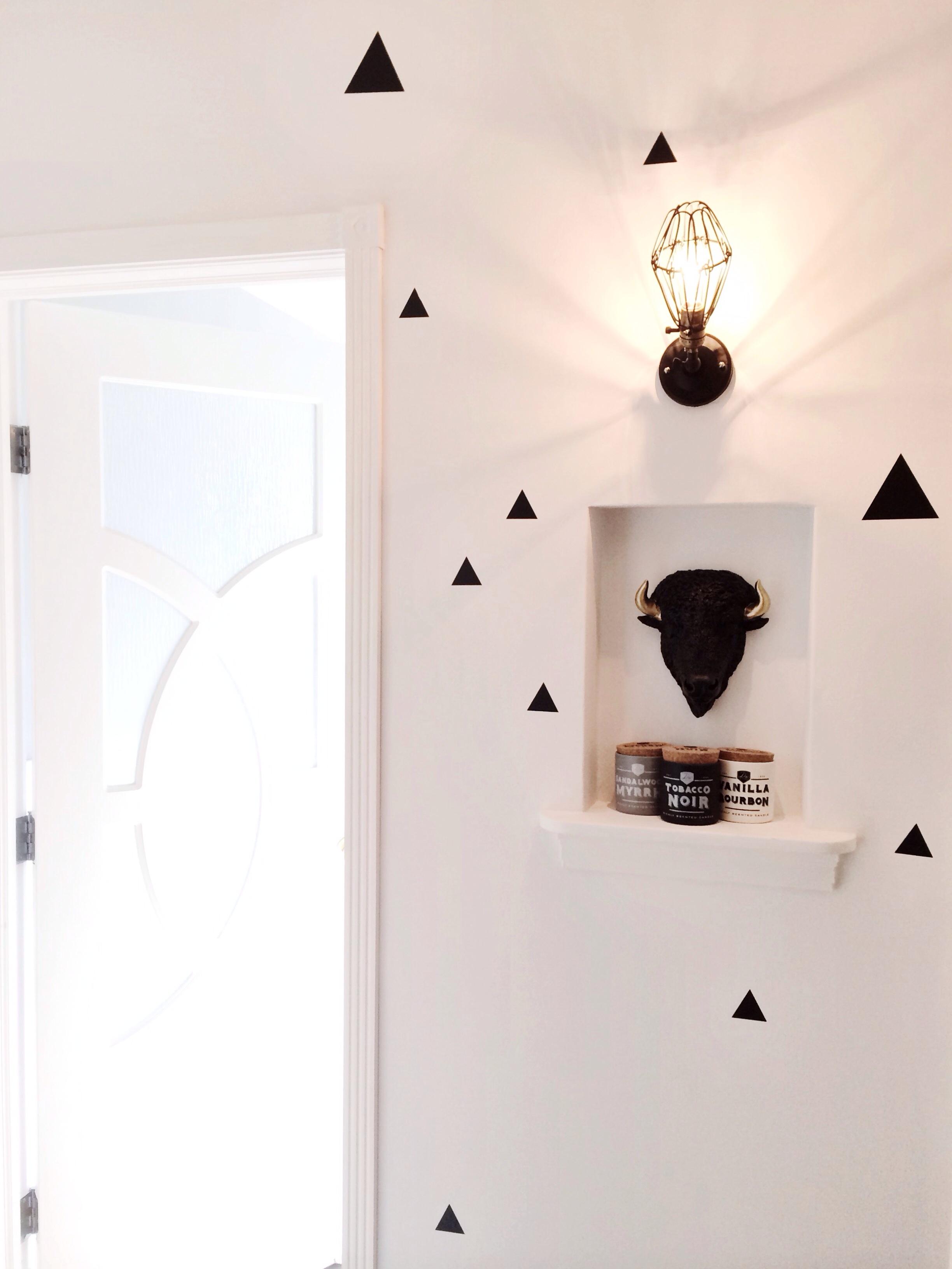 Diy Hallway Wall Decor : Diy hallway refresh northern style exposure