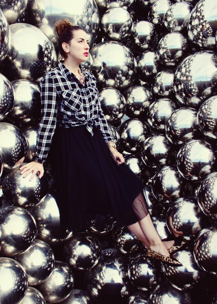 Tulle skirt smartset style blogger