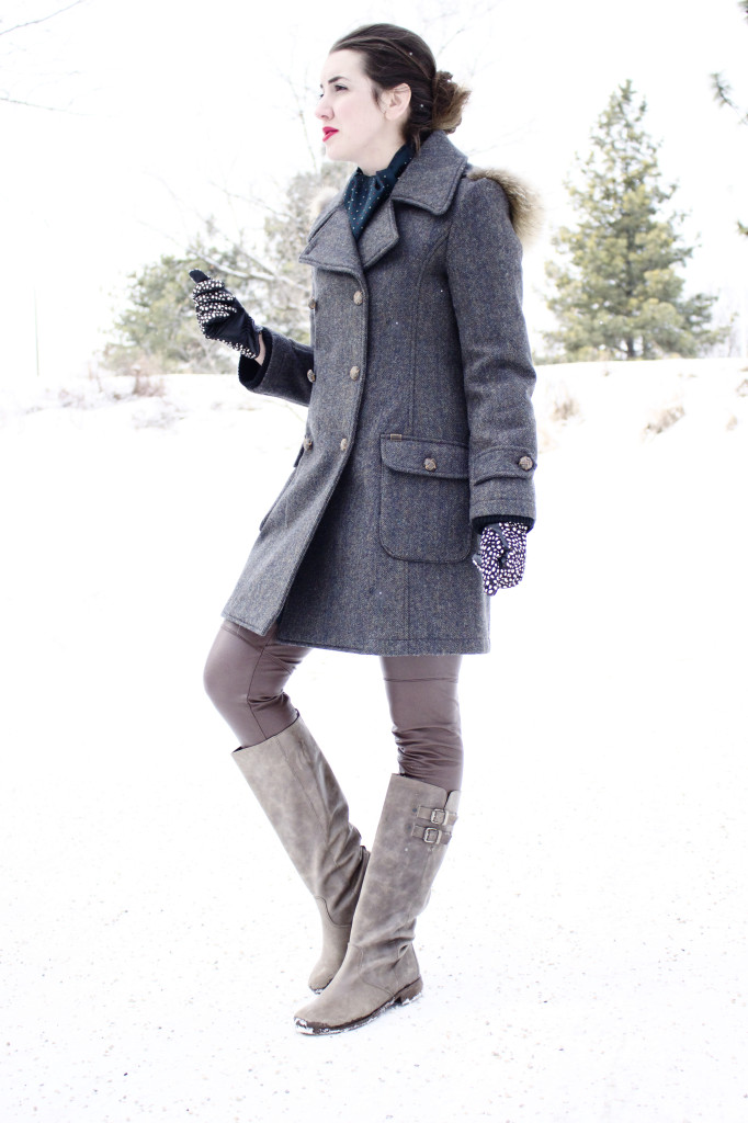 freed coat Canadian designer outerwear