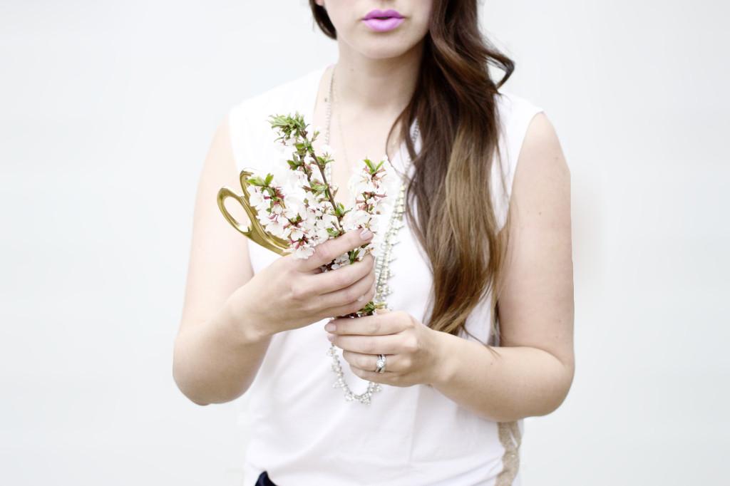Maybelline lipstick Lilac Flush style blogger purple