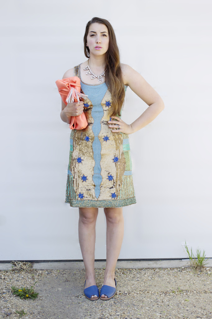 narces Canadian designer dress gown