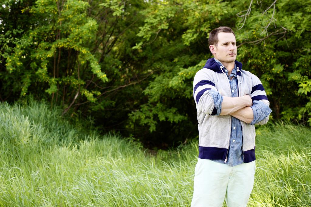 men's look blogger