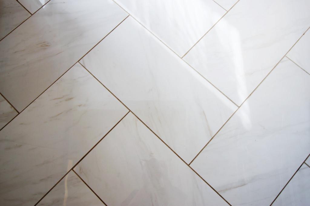 herringbone chevron floor tile kitchen bathroom