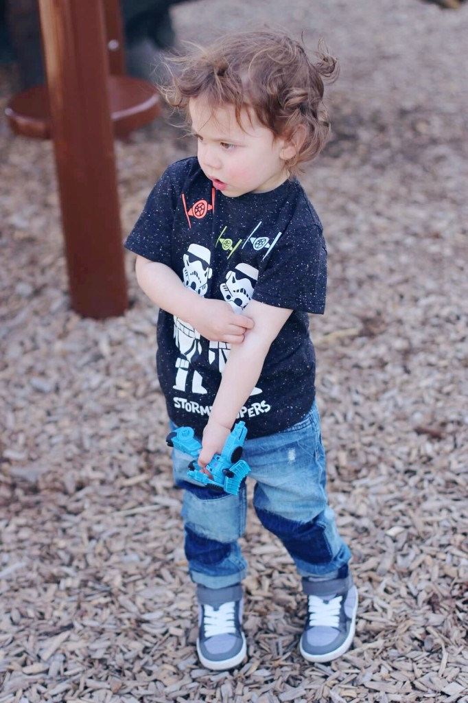 H&M Kids Toddler boy style mini Canadian blogger mommy