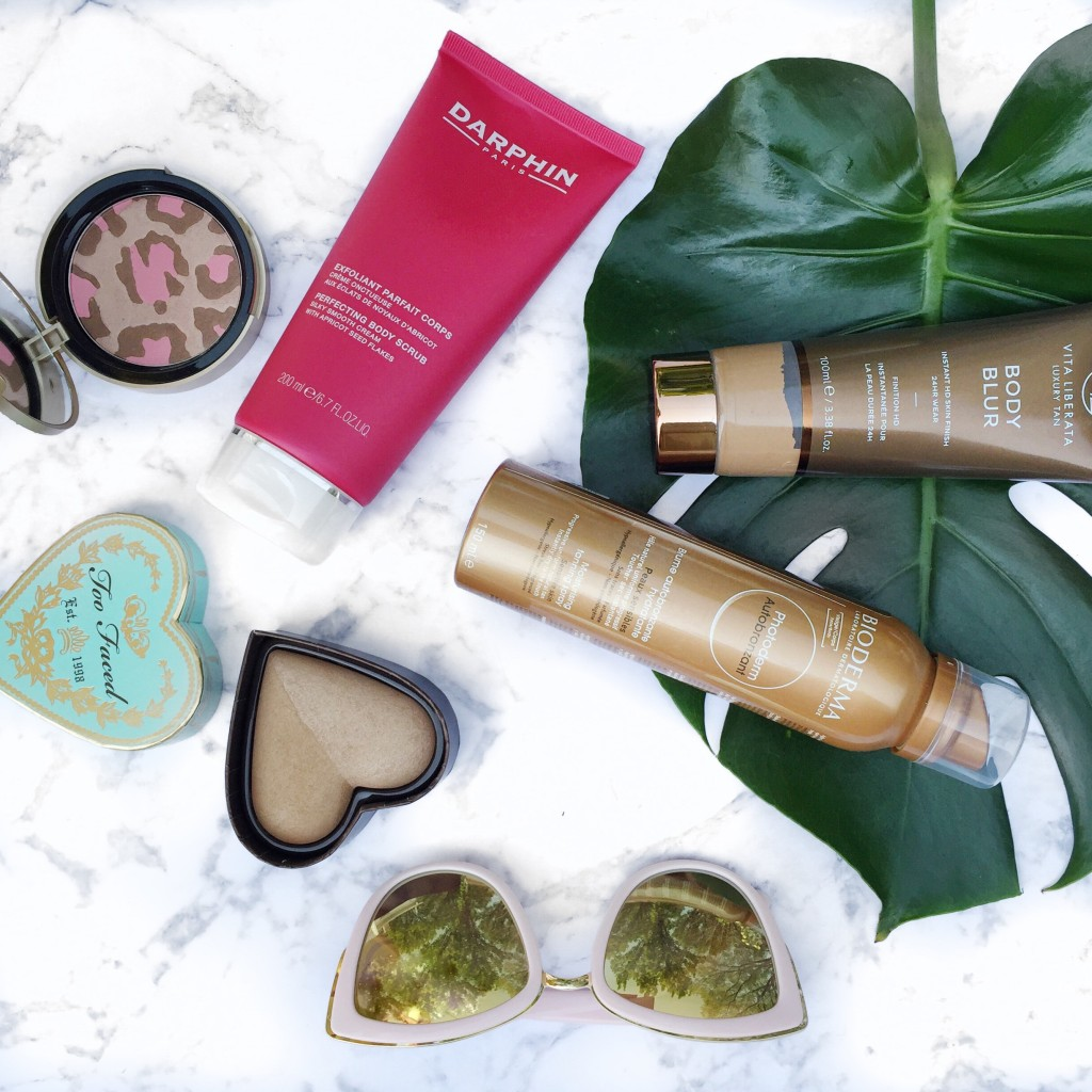 bronzer tanner self tanner sephora top picks favourites blogger beauty vita liberata Darphin Too Faced