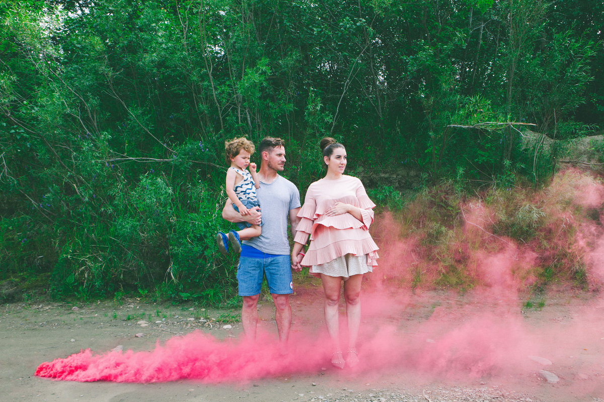 Lifestyle || Our Smoke Bomb Gender Announcement || It's a