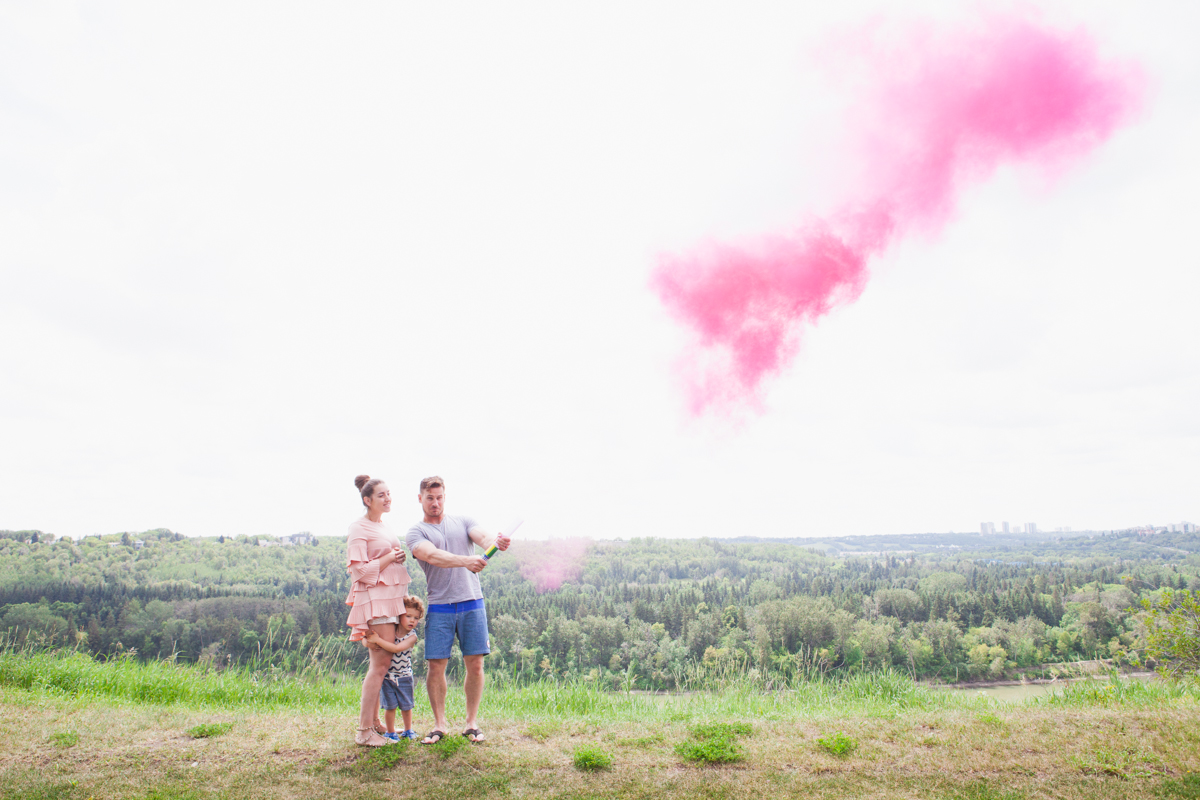Lifestyle Our Smoke Bomb Gender Announcement It S A