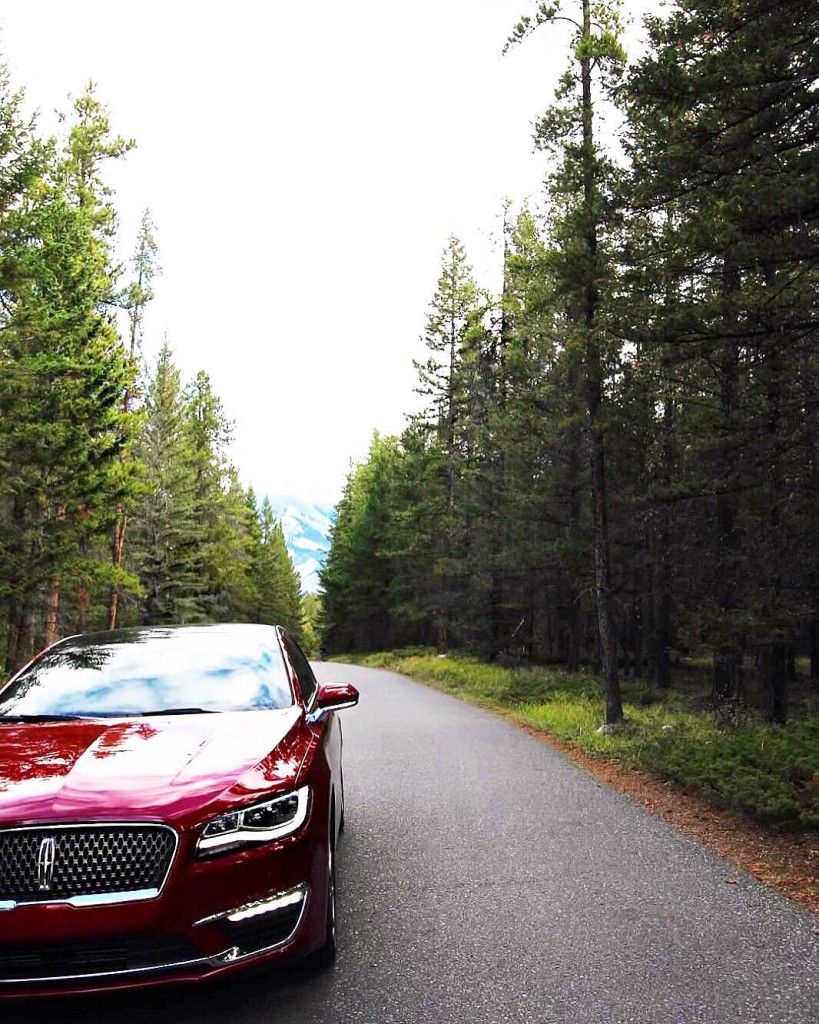 Lincoln MKZ review blogger Jasper park lodge spa
