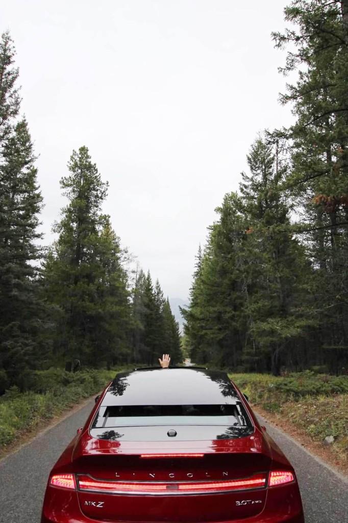 Lincoln MKZ review blogger Jasper park lodge spa