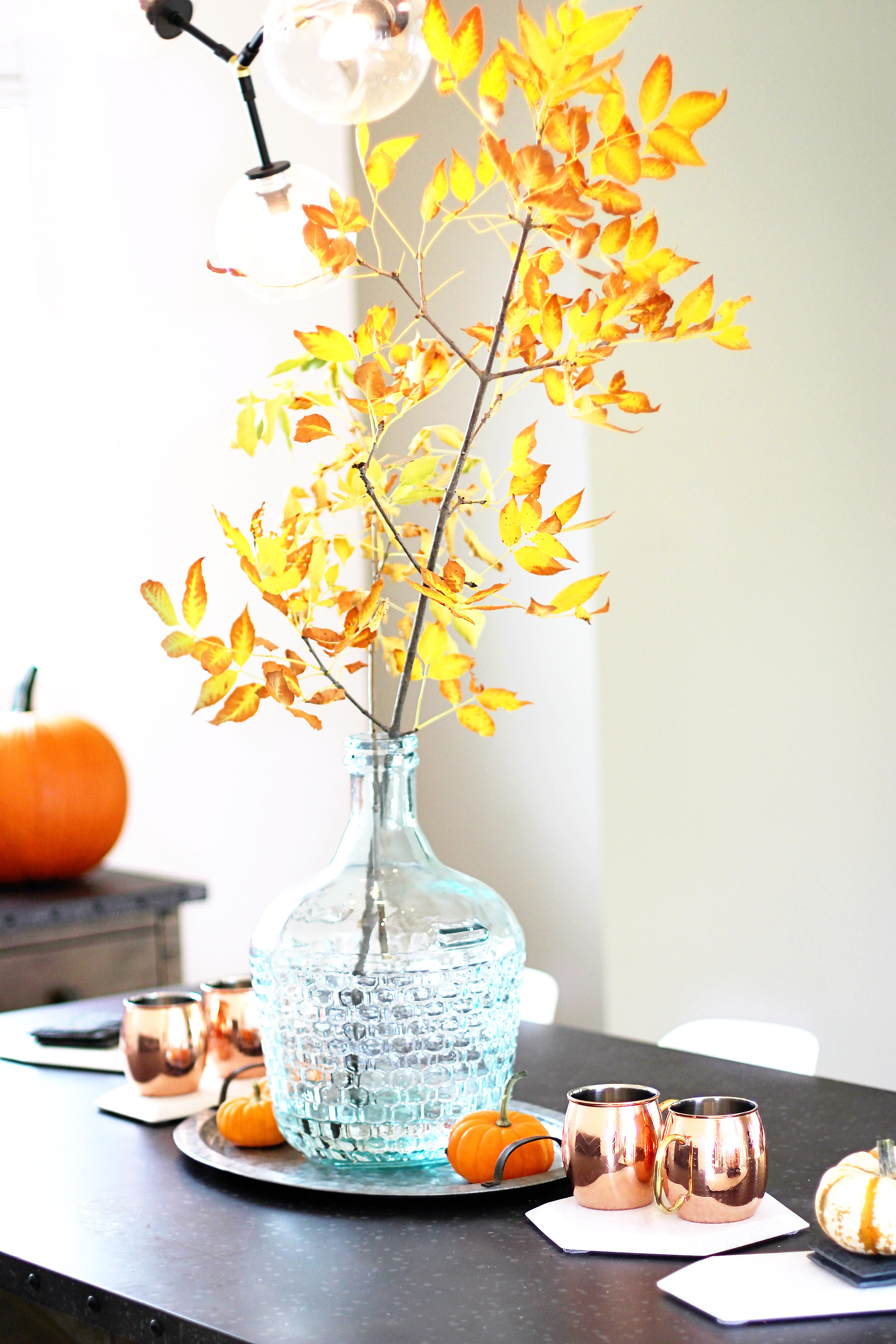 Lifestyle My Fall Home Decor Tour Canadian Blogger