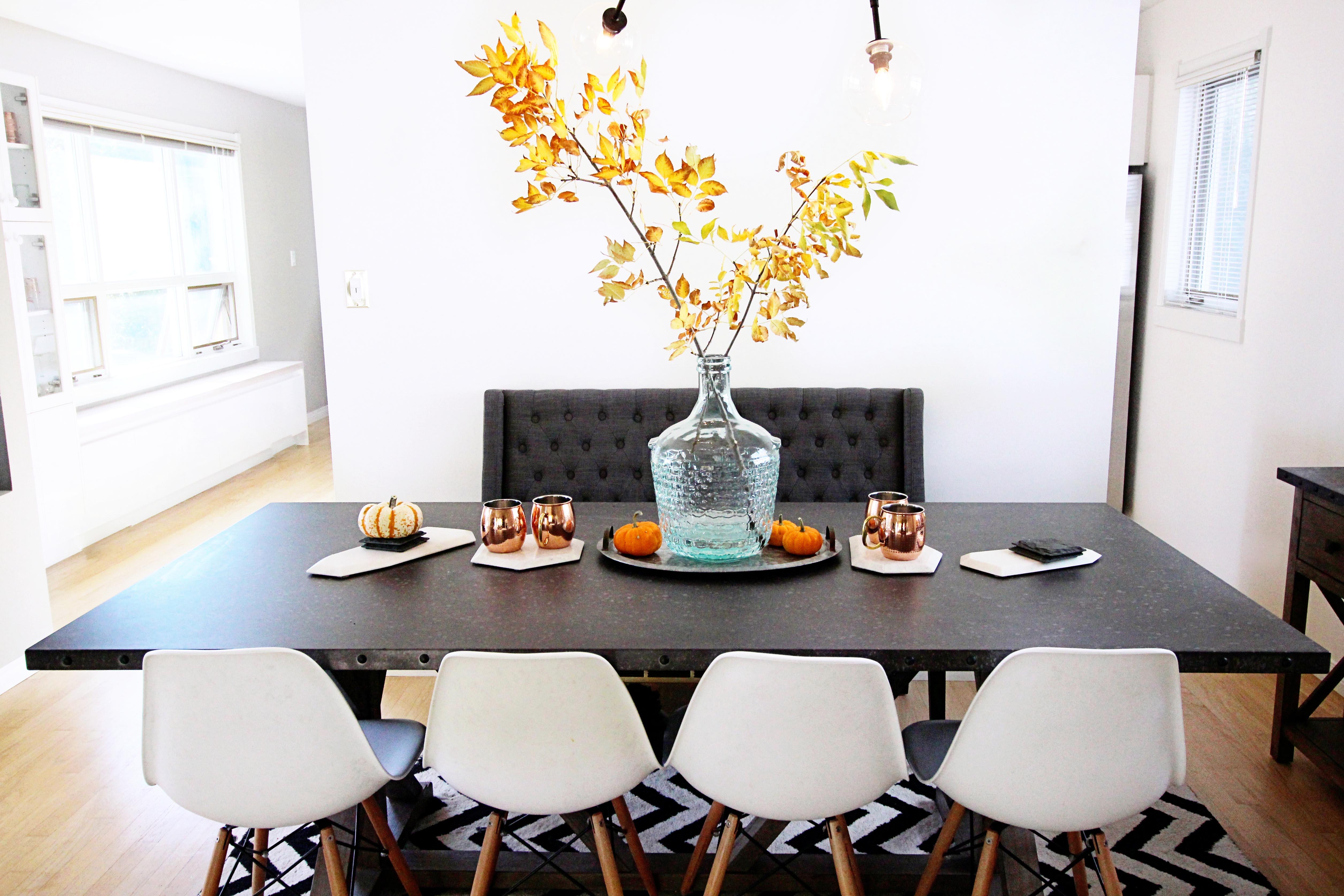 Lifestyle || My Fall Home Decor Tour || Canadian Blogger Home Tour ...