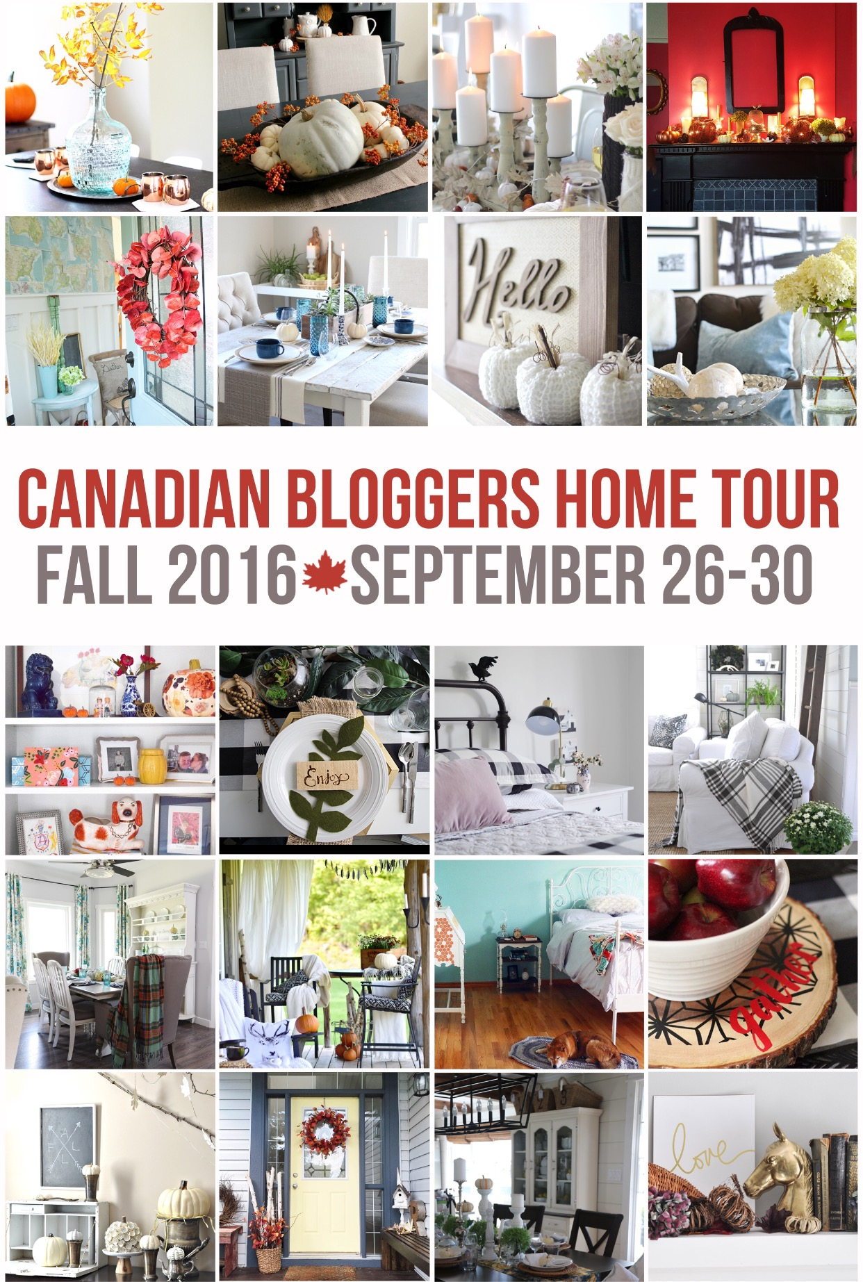 Itu0027s That Time Of Year Again, When I Join A Cross Canada Blogger Panel To  Let You Have A Little Peek Into Our Homes For Fall! This Week Youu0027ll Get To  See ...