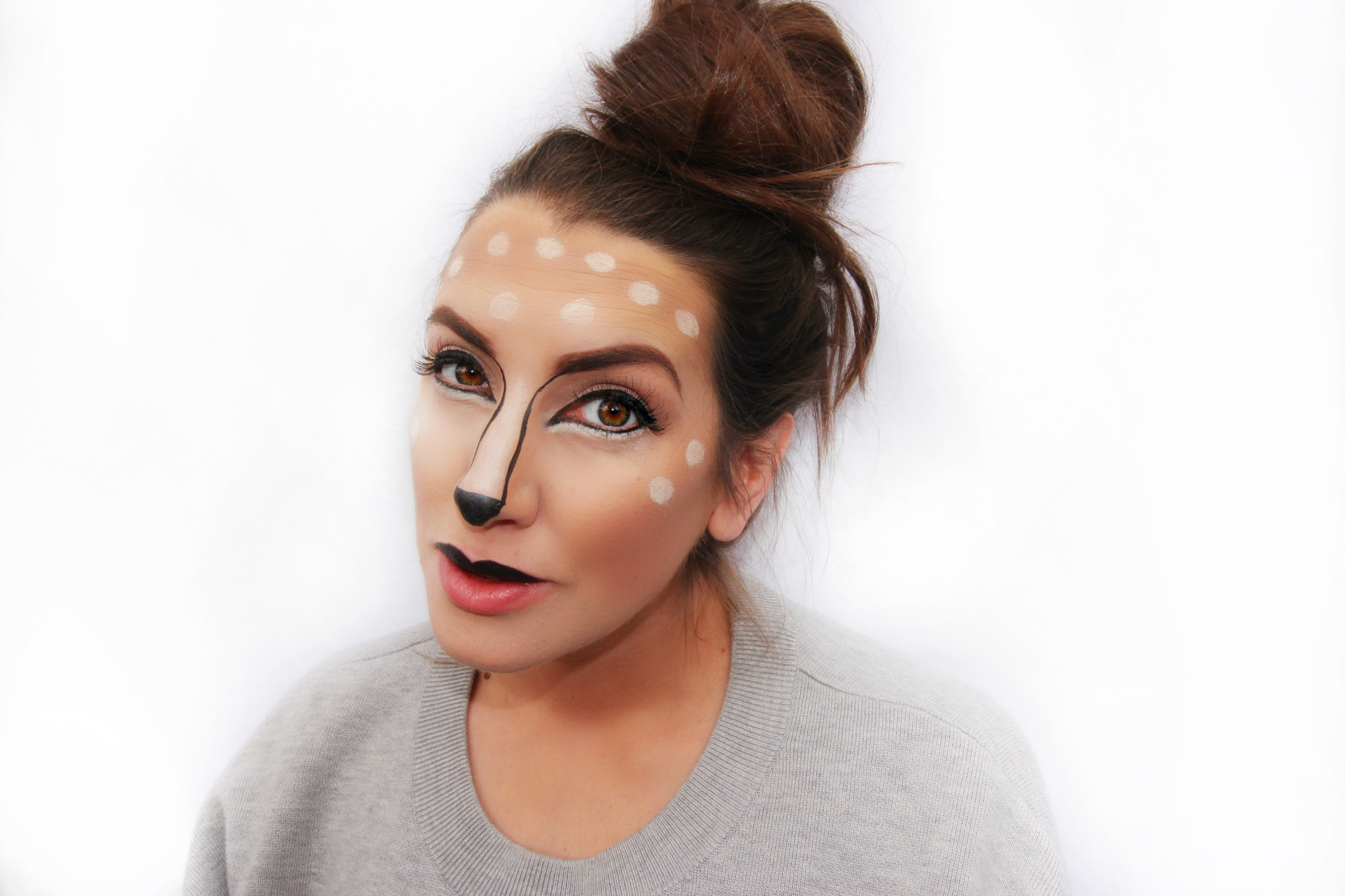 Halloween Makeup Ideas Easy Makeup Looks.Beauty Easy Step By Step Halloween Makeup Tutorial