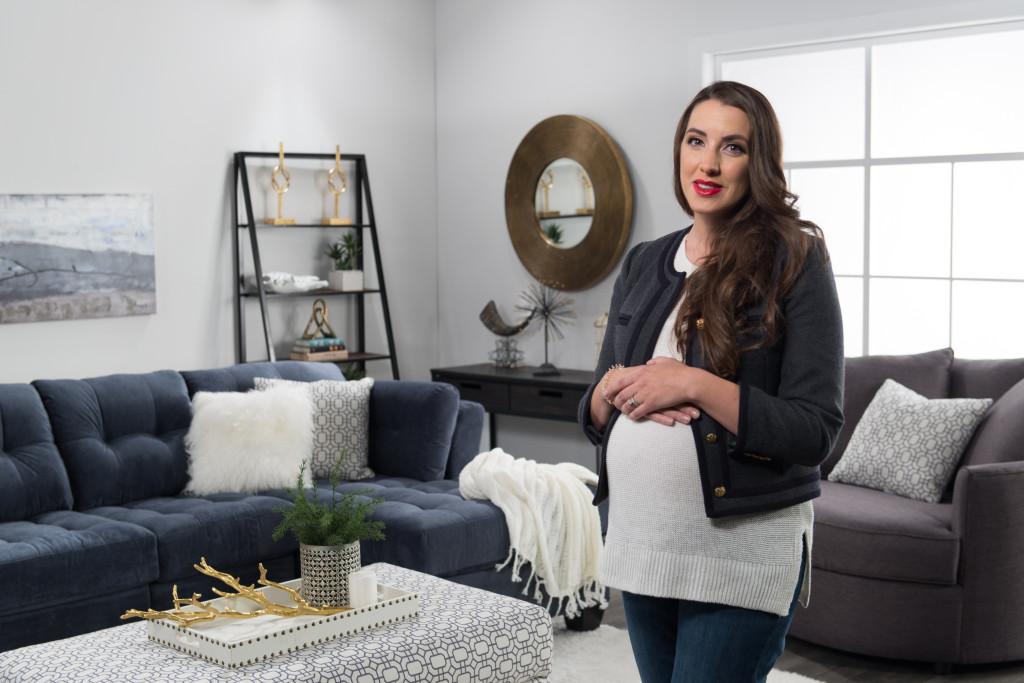 d2b-blogger-shoot0355d2b-blogger-shoot0345 kira paran the brick blue sofa living room design how to
