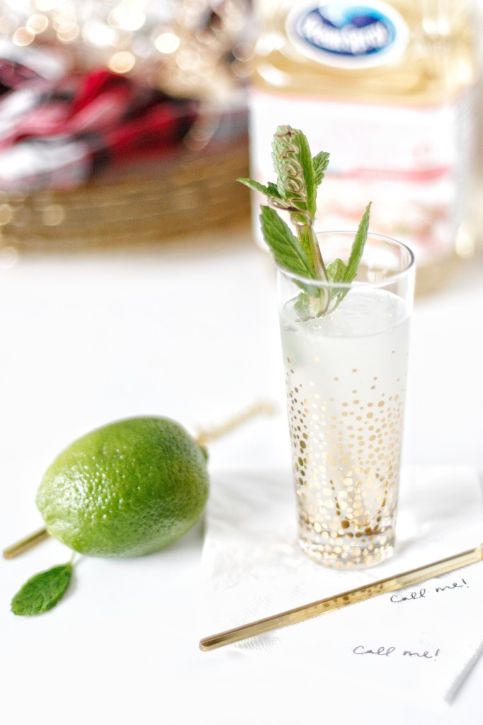 holiday fresh drink cocktail cocktail recipe ocean spray green lime mint