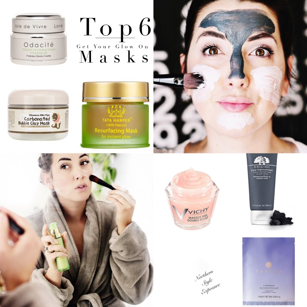 top 6 sephora luxury mask beauty blogger Tata harper tatcha odacite carbonating mask origins charcoal
