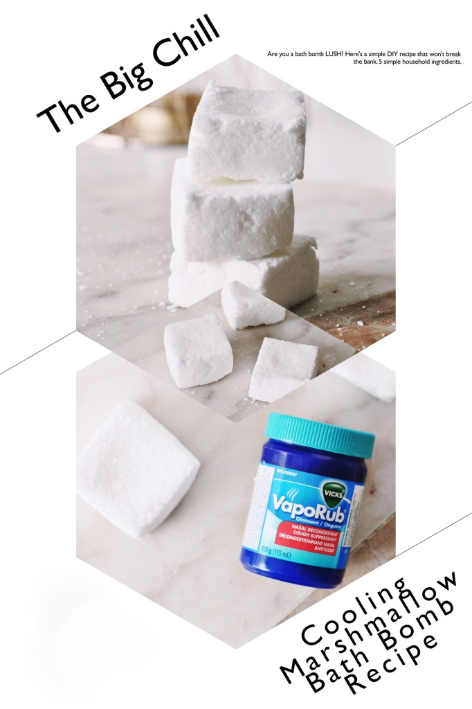 nick's vapour rub cooling the big chill lush bath bomb hack recipe DIY