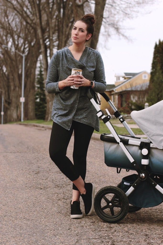 Mark's active wear Canadian mom blogger style Edmonton Bugaboo blogger stroller limited edition  west coast kids best  top stylish camelon