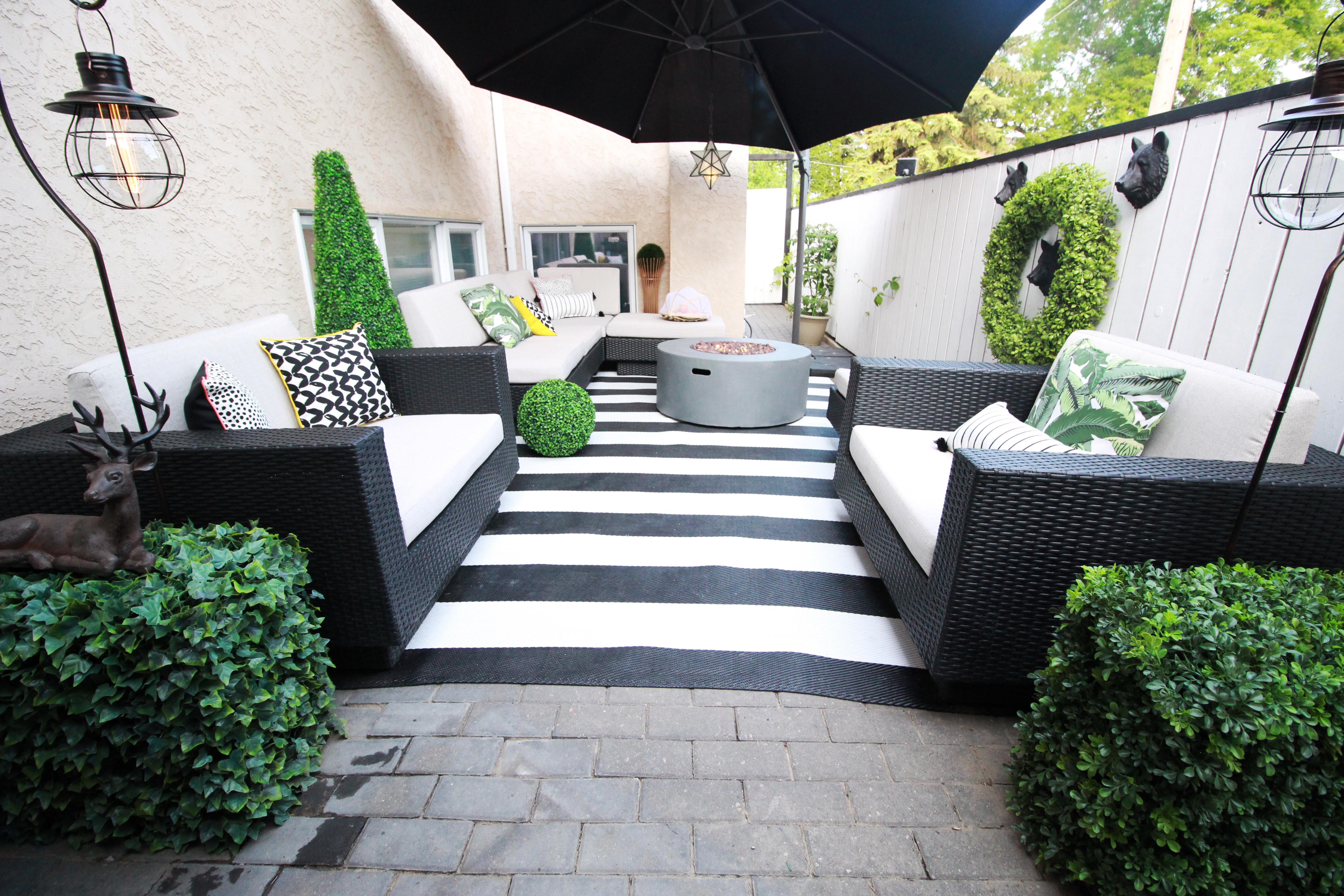 Home Decor & DIY Ideas | Northern Style Exposure on Black And White Patio Ideas id=90172