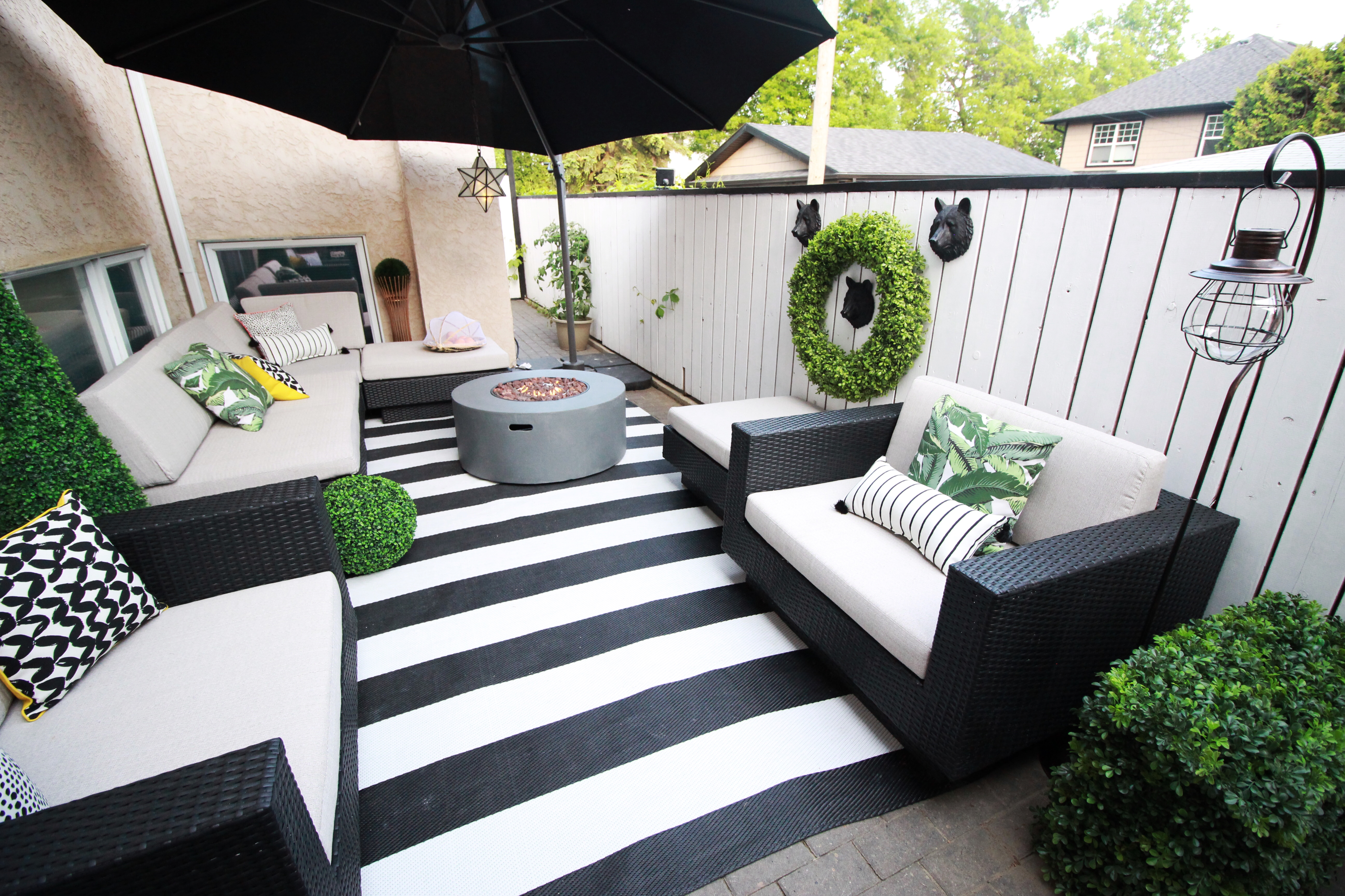 Home Decor & DIY Ideas | Northern Style Exposure on Black And White Patio Ideas id=59118