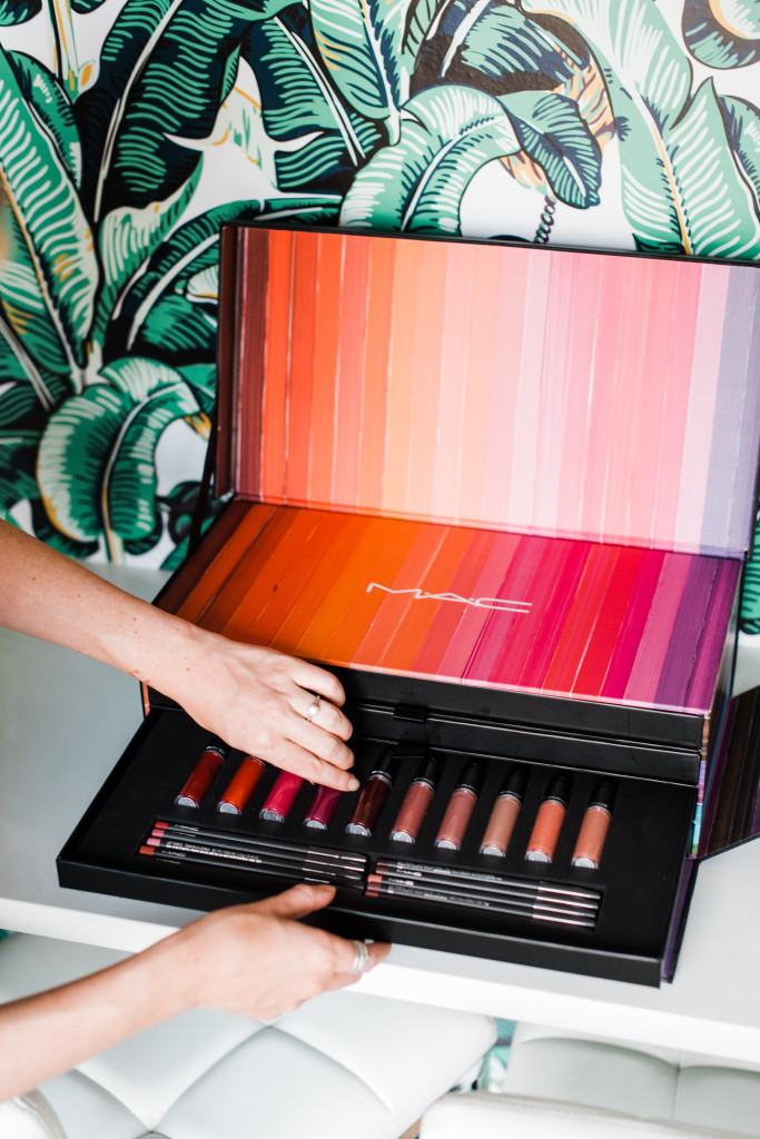 MAC makeup lipstick vault mac cosmetics lips lips lips pucker up package #MaCLIPSLIPSLIPS