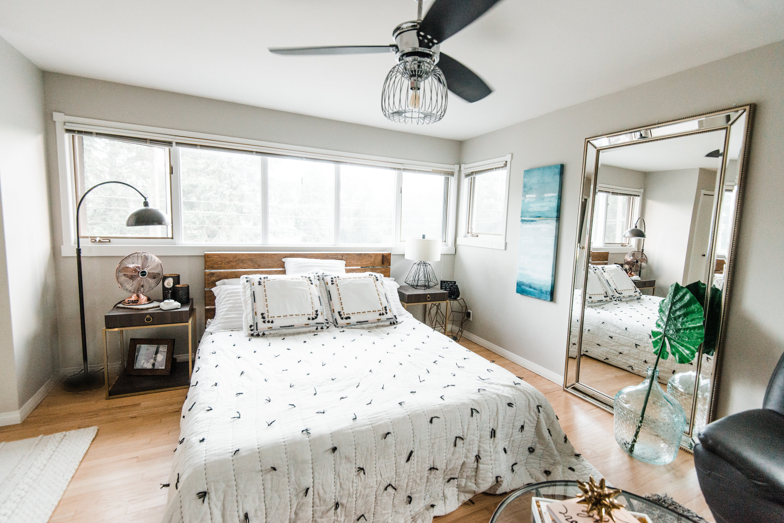 Room Decor: A Summer Bedroom Update With @TheBrick