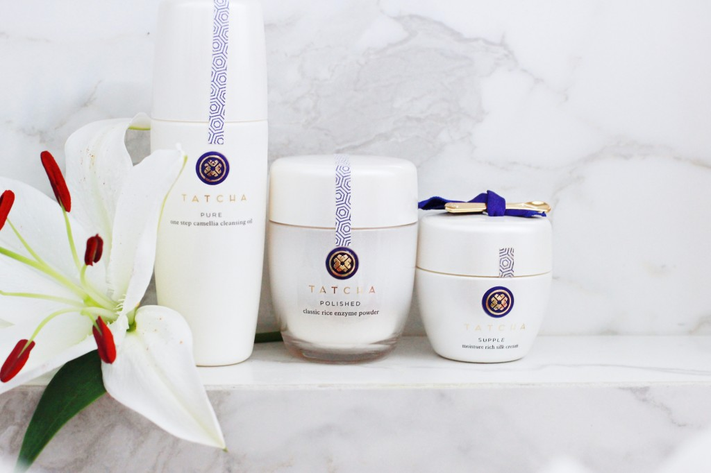 Tatcha natural luxury skincare line beauty blogger nordsotrm SAKS finds haul review rice cleaners exfoliation  sephora