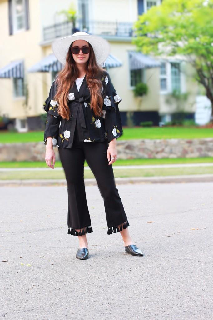 topshop canada tassel fringe pant trend pointed leather black mules canaiadan blogger alberta edmonton kira paran