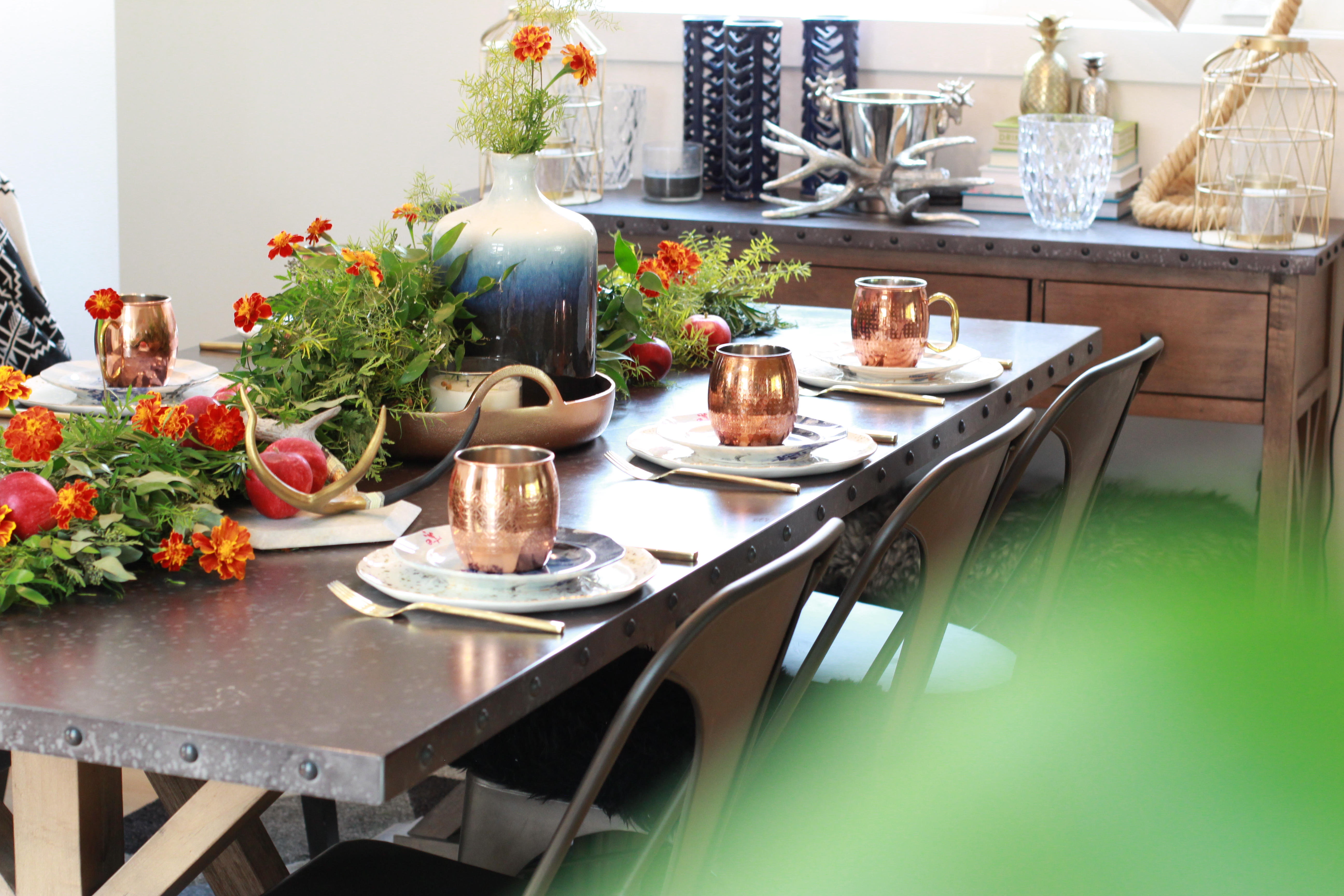 fall table setting tablescape home decor style apples & Home Decor #AD || All those Fall feelsu2026 || An Autumn Table Setting ...