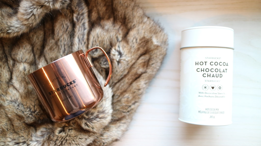 starbucks gold copper mug drinkware