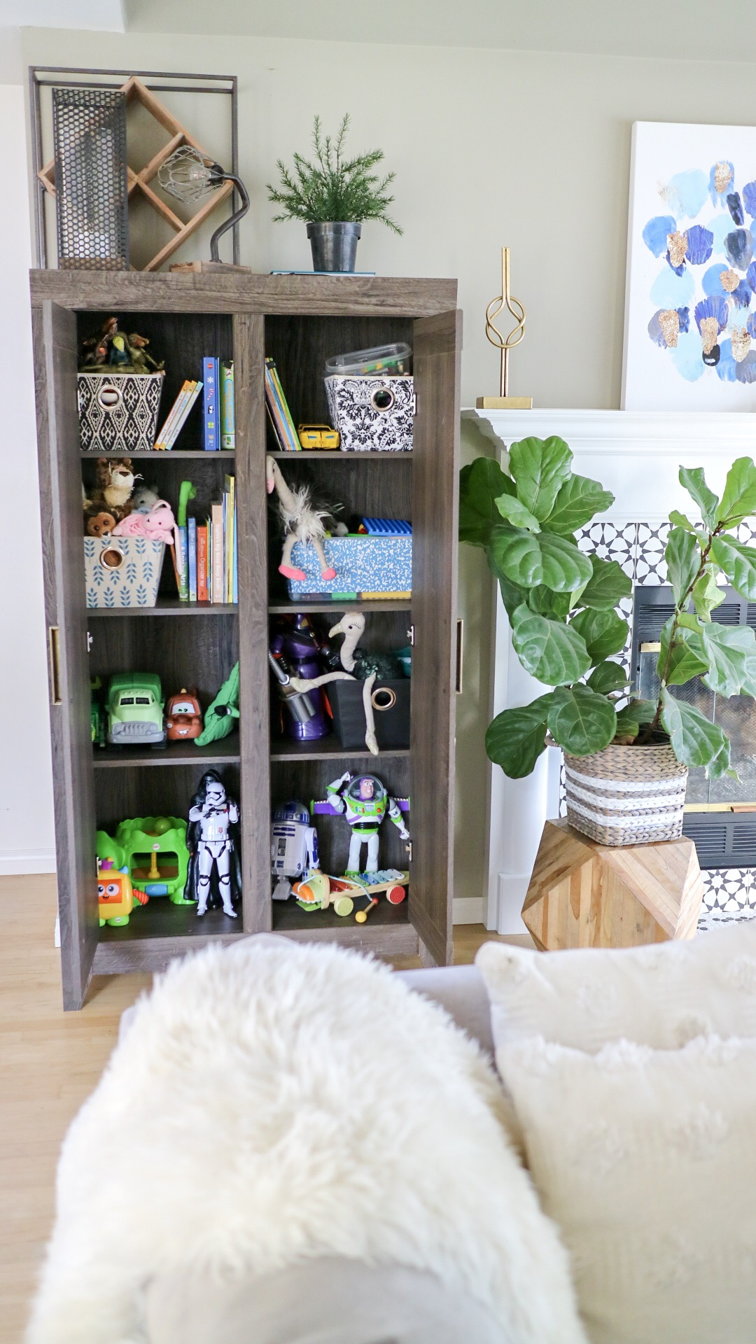 Get Your Space Back The Toy Struggle Storage Solutions With Thebrick Sponsor Homedecor