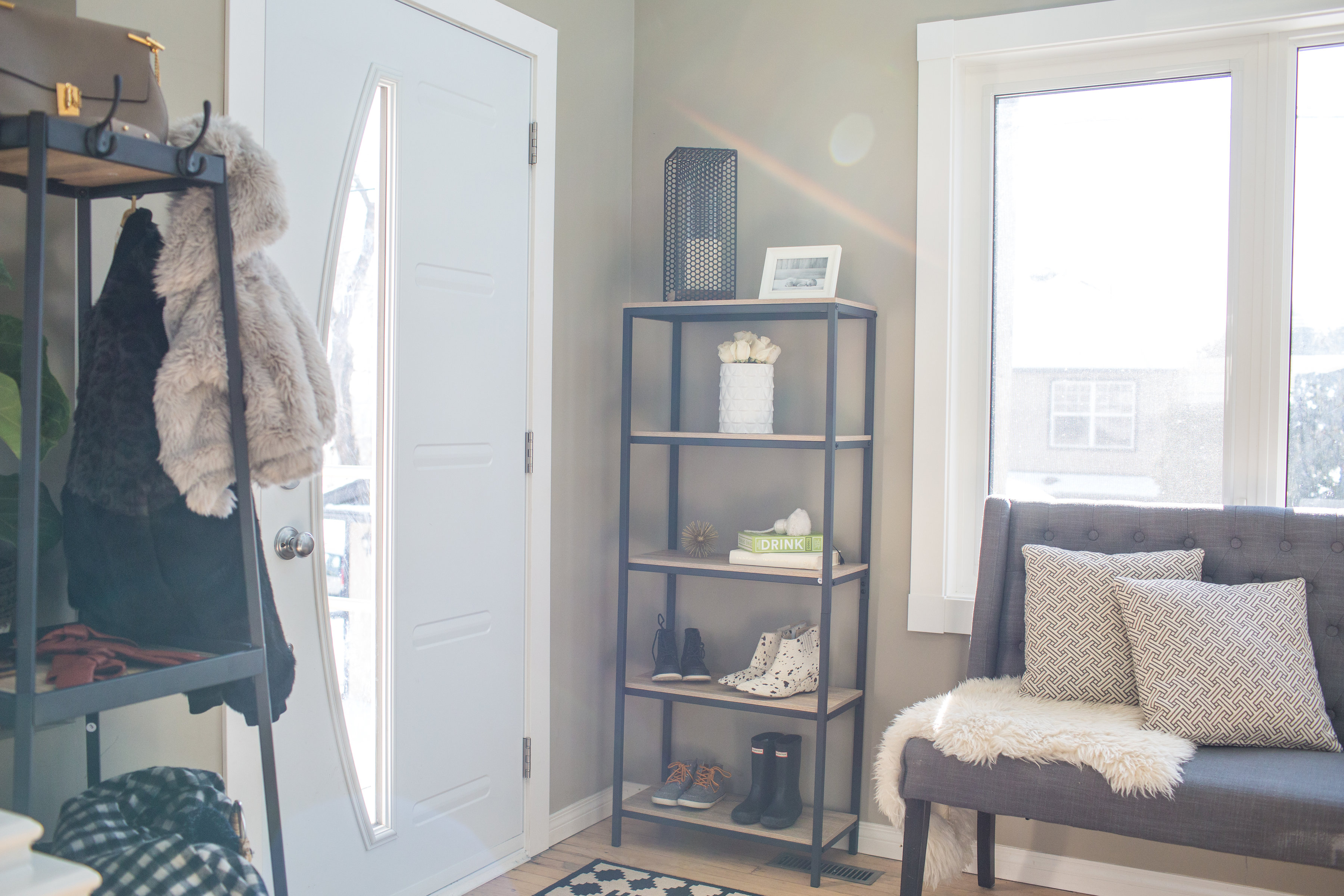 They Have Tons Of Pieces That Will Fit Any Space: From Desks, Coats Racks  To Shelving Units This Line Has So Many Modern Storage Solutions.