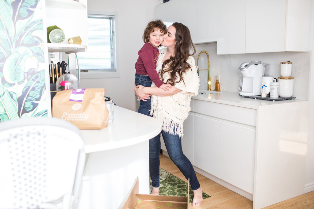 mom and me style post canadian lifestyle blogger moroccan wrap sweater cardigan jacket