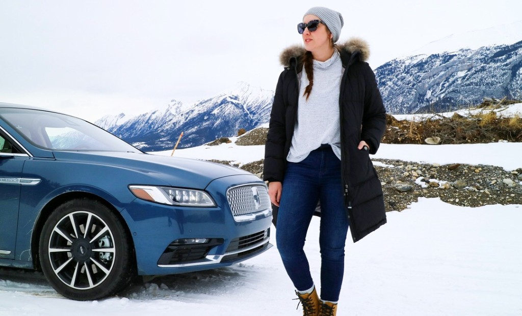 Lincoln continental 2018 review banff canmore lifestyle blogger family road trip tips tricks ideas