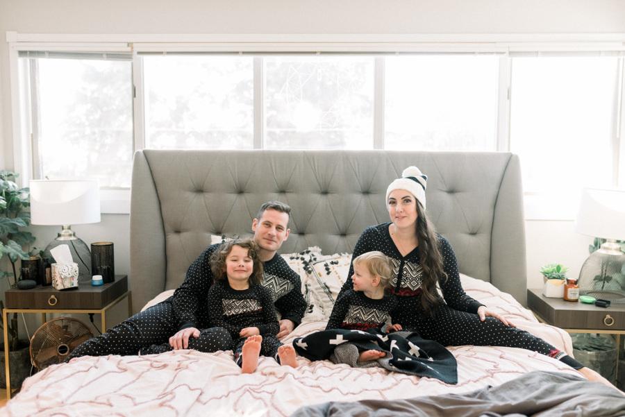 hannah anderson family pyjamas matching christmas